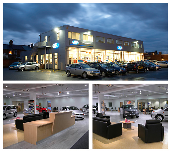 Ford Dealership Building Designs: Rose Builders And Contractors