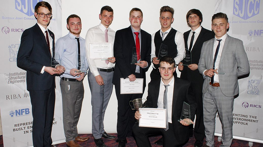 National Federation of Builders (SJCC) 2016: Apprenticeship Award
