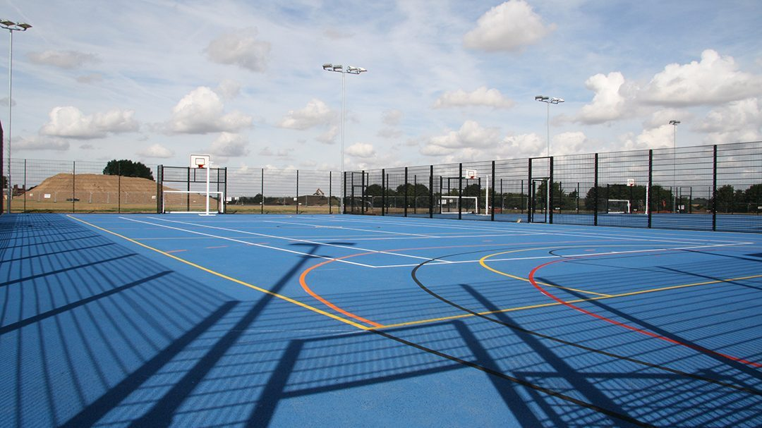 Manningtree High School, Multi-Use-Games-Area