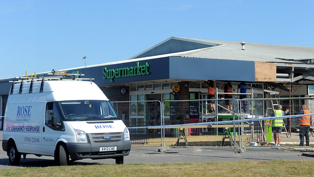 Co-op Brightlingsea – cash machine raid