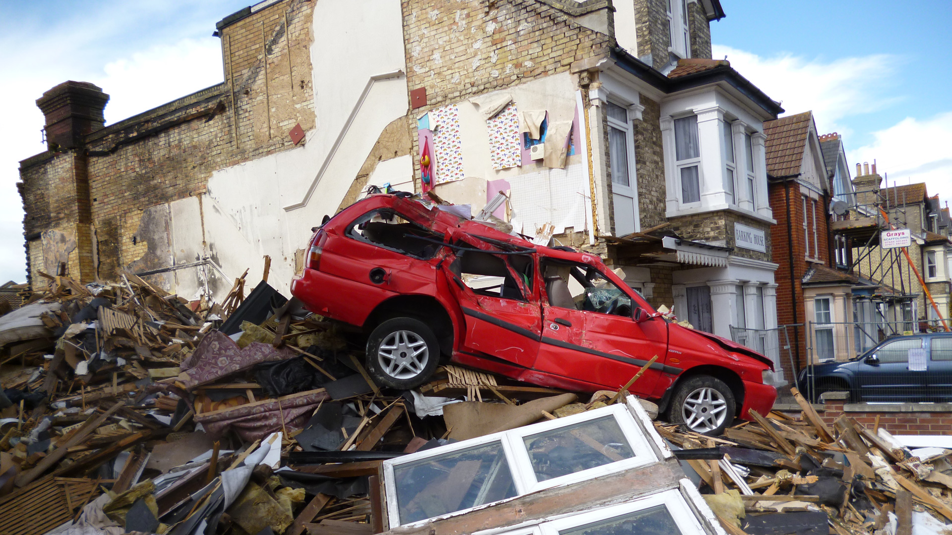 Wellesley Road, Clacton – Emergency Demolition Works