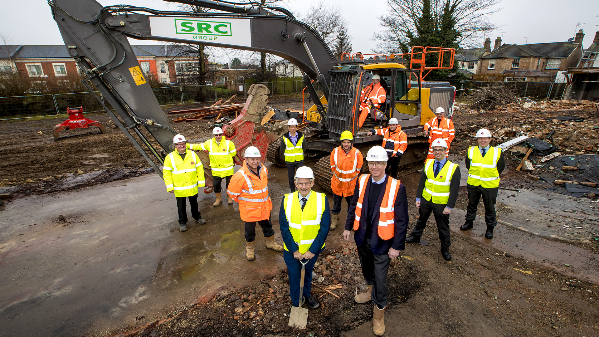 Milestone for £42m project to tackle county's housing shortage