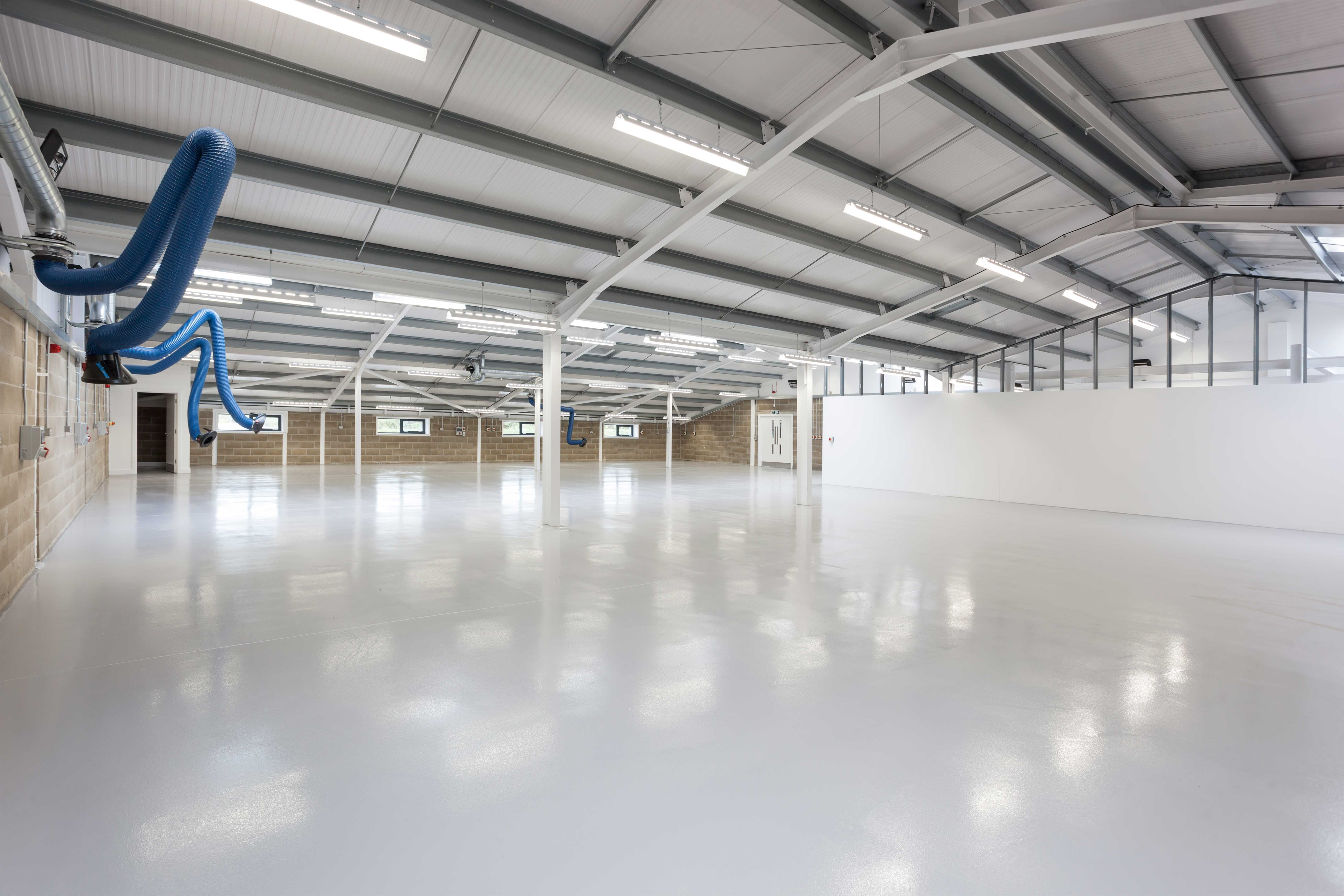 AGM's New Production and Testing Facility