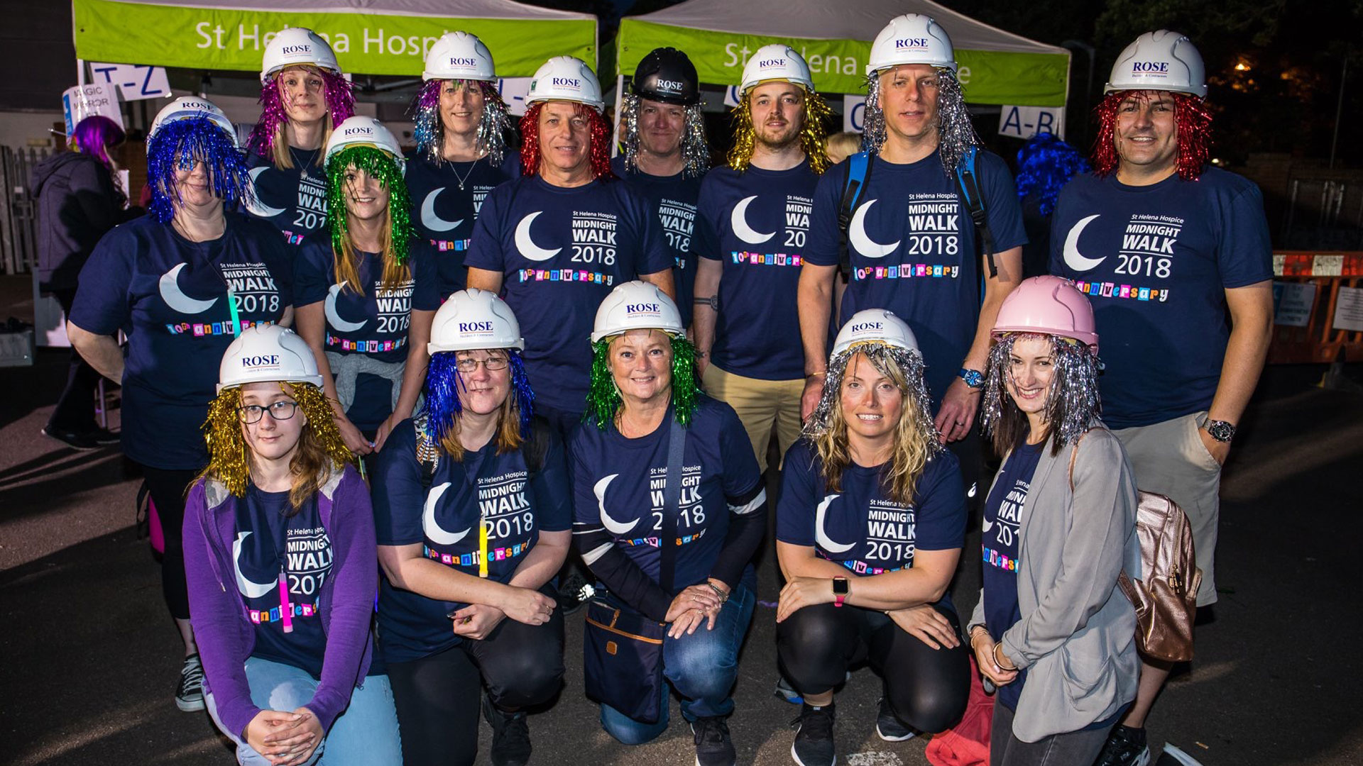 Midnight Walk for St Helena Hospice