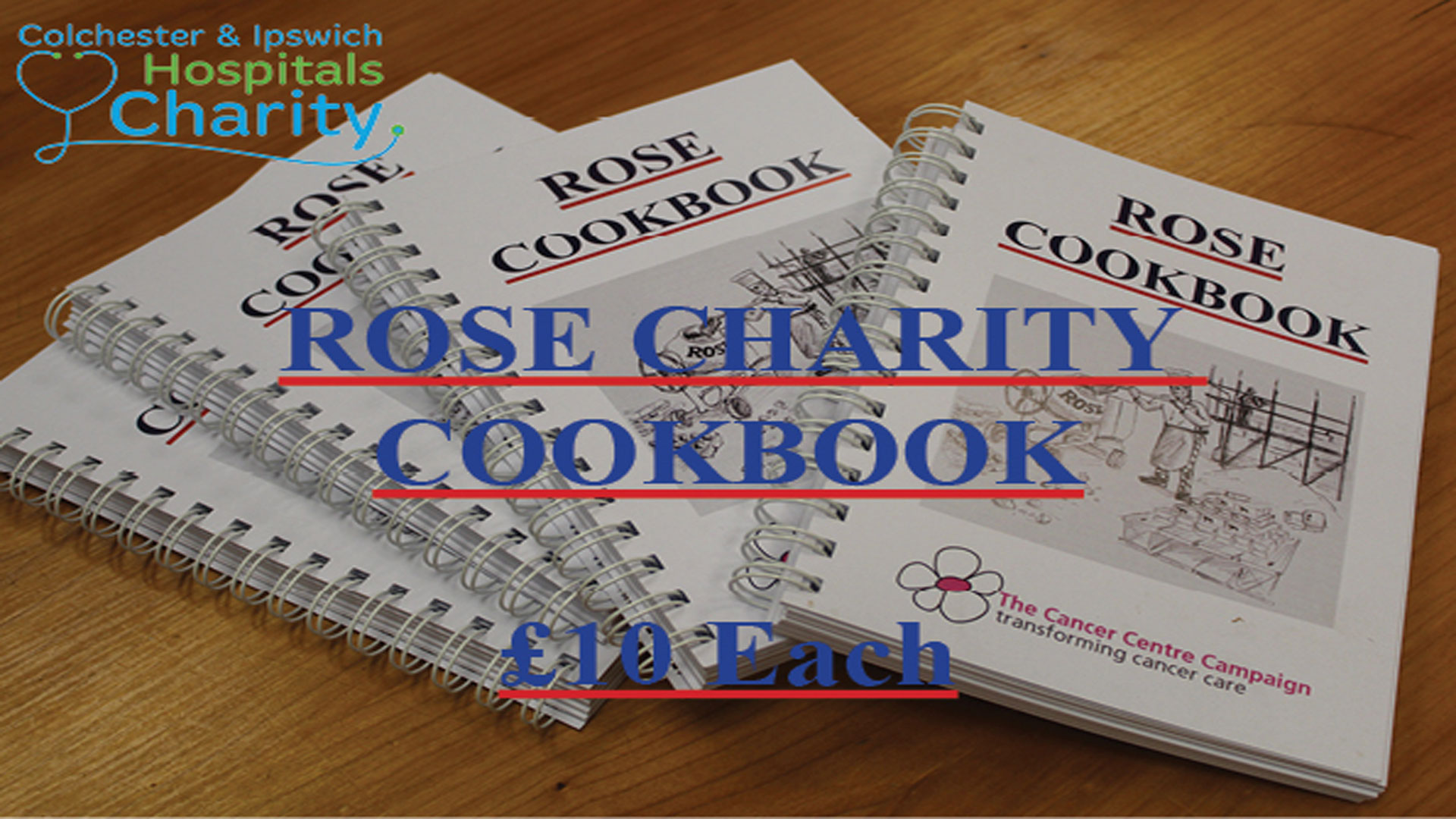 Rose Builders Charity Cookbook