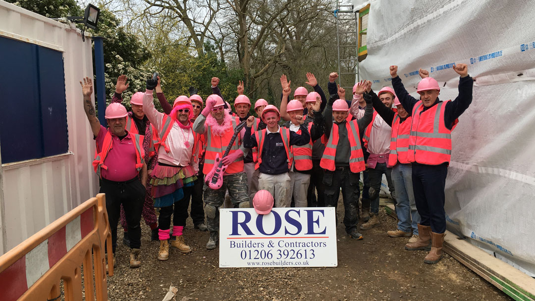 Pink Day for Colchester & Ipswich Hospitals Charity