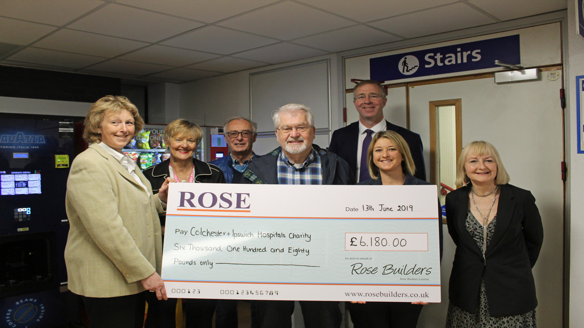£6180 Raised for New Cancer Centre