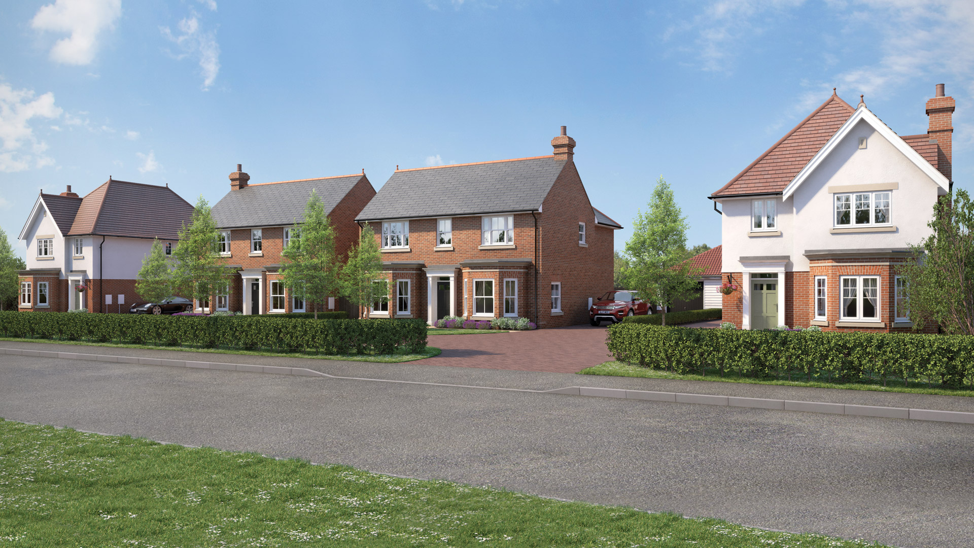 An exceptional collection of just four, beautiful, detached family homes. ROSE Homes - Mistley, Essex, CO11 2DN